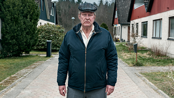 Vinnaren av Biopublikens pris 2015 blev En man som heter Ove. Foto: Johan Bergmark