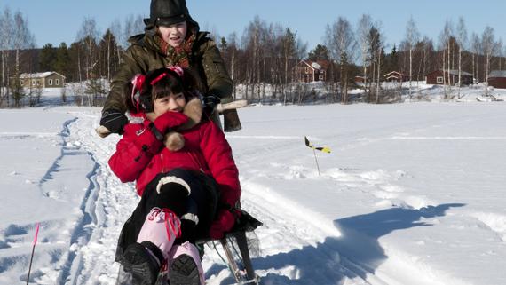 Isdraken. Foto: Lena Lahti
