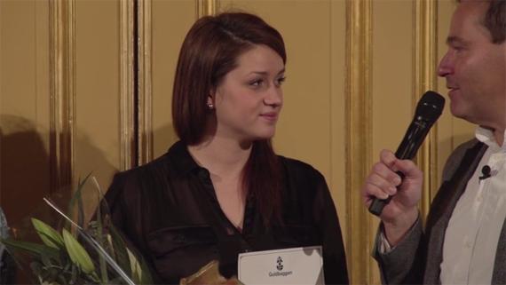 Nermina Lukač, nominerad för rollen som Raša i Äta sova dö